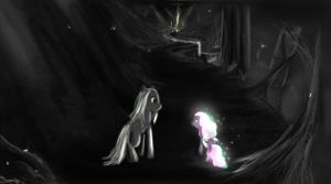 Fire and Ice - Little Lightbug by AtomicWarpin