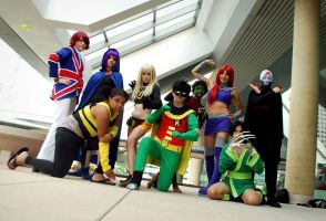 Teen Titans GO by ShatteringReality