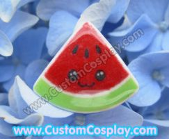 Red watermelon ring by The-Cute-Storm