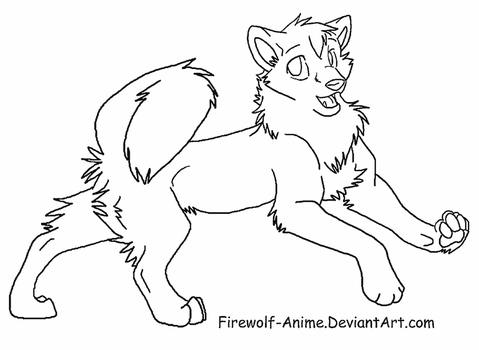how to draw a wolf pup dragoart