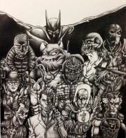 Batman's Rogues by Dachande89