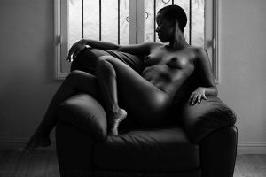 Desiree1, Leather Chair, 162 by photoscot