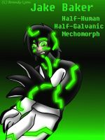 JAKE BAKER-GALVANIC MECHOMORPH by TheDocRoach