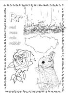 alphabet coloring pages Rr copy by jbeverlygreene