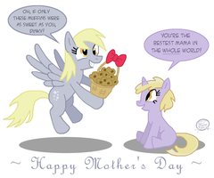 Derpy Mother's Day by UncleScooter