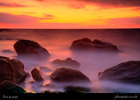 fire and mist by JakeSpain