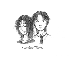 Nameless Twins by bad-exposition