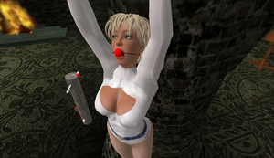 PowerGirl in peril 2 by leahsapphire