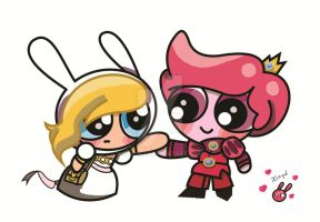 Gummybunny powerpuff version by Xcoqui
