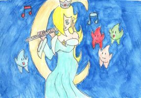 Rosalina, the flutist by ClarinetPeachy