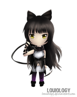 Blake Belladonna chibi by Louiology