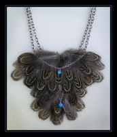 Pheasant Feathers Necklace by Nadia1956