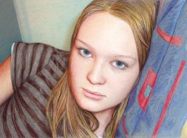 coloured pencil drawing by stilo916