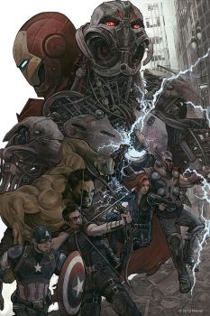 avengers: age of ultron by AJFrena