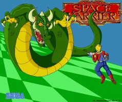 Space Harrier by Shimmergloom