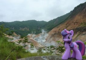 Twilight the Vulcanologist by caliaponia