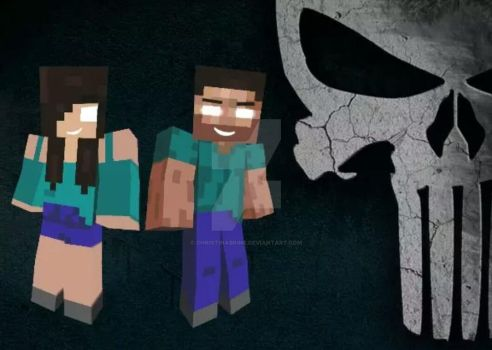 +Herobrine MC , thanks for the drawings ^_^ by Christinabrine