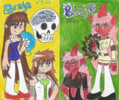 Braja and Bleje by BubbliciousAirheads