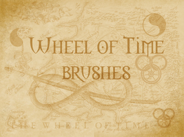 Wheel of Time symbol brushes by xxtayce
