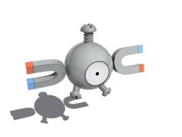 Magnemite by StoneKeeper