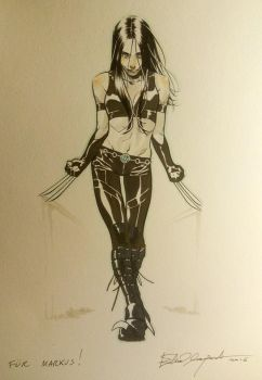 X-23 commission by elena-casagrande