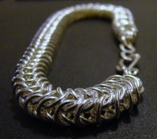 Box Chain Bracelet by Mommy-of-Monsters