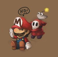 On Mario by ybkt