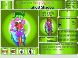 Pokemon Fairy Light and Ghost Shadow ''012'' Mega by AndkeAnka