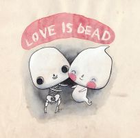 Love Is Dead by Hannakin