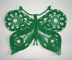 Butterfly Series - Green by Myrthilla