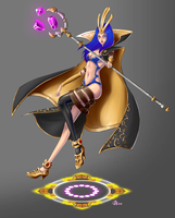 LoL: LeBlanc by 7guineapig7
