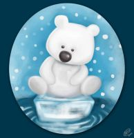 Little Polar Bear by DawnyDawn