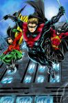Nightwing Colours. by CrisstianoCruz
