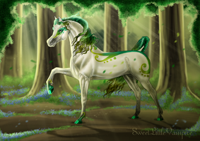 The Enchanted Forest by SweetLittleVampire