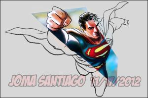 The Man of Steel by joma33