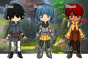 RPG Characters(4) : Closed by SyT-Adopts