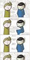 101 Ways to Make a Vulcan Laugh: 011 by TheVeggieSalad