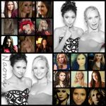 Elena and Caroline / Nina and Candice by annaomi9796