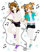 MMD Music~ by brsa