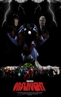 feel the ONSLAUGHT movie poster by IGMAN51