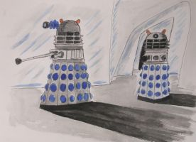 The Daleks by LewisDaviesPictures