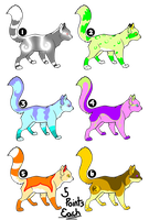 Cat Adopts - 6/6 OPEN by Daagger