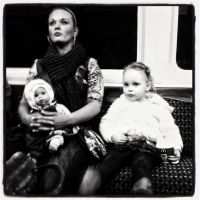 Train Trio by elizabethunseelie