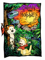 Calvin and Hobbes by H0lyhandgrenade