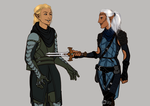 DAO: Wicked Games {Zevran/Mahariel} [Commission] by LadyTheirin