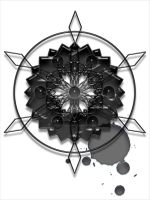 A Black Snowflake 08 by VolatilePlums