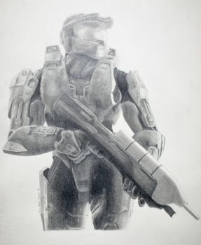 Master Chief of Halo 3 by Jshei