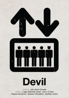 Devil pictogram movie poster by viktorhertz