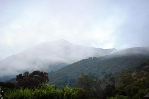 landscape: misty mountains II by illusionistsmemories
