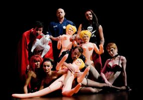 Jim Rose Sideshow Circus by shwtterbwg